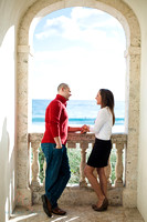 Jordan and David - West Palm Engagement Session